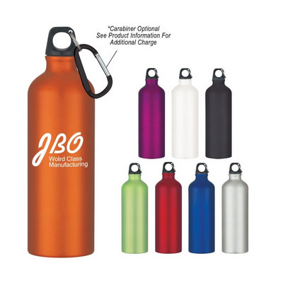 ALUD03 Aluminium Sports Bottle 750ml With Carabiner (ALUD03_OC)