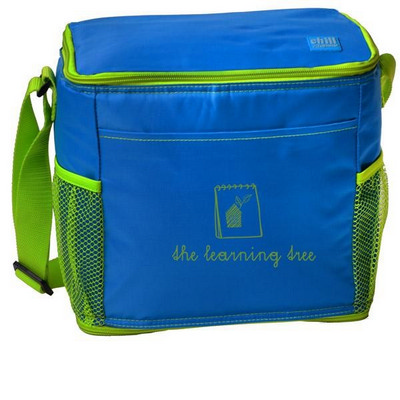 COLB30 12-Can Cooler With Mesh Pockets - Includes Decoration COLB30_OC