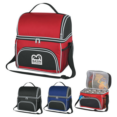 COLB35 Two Compartment Excursion Kooler Bag - Includes Decoration COLB35_OC