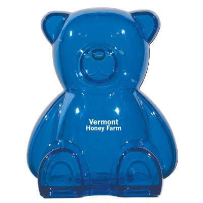 MOBN07 Plastic Bear Shape Bank (MOBN07_OC)