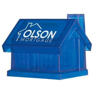 MOBN09 Plastic House Shape Bank (MOBN09_OC)