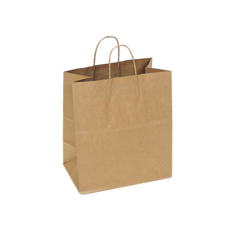 PAPB01KBL Kraft Paper Bag Large Includes Twisted Paper Handle (PAPB01KBL_OC)