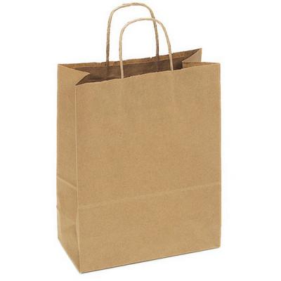 PAPB01KBM Kraft Paper Bag Medium Includes Twisted Paper Handle (PAPB01KBM_OC)