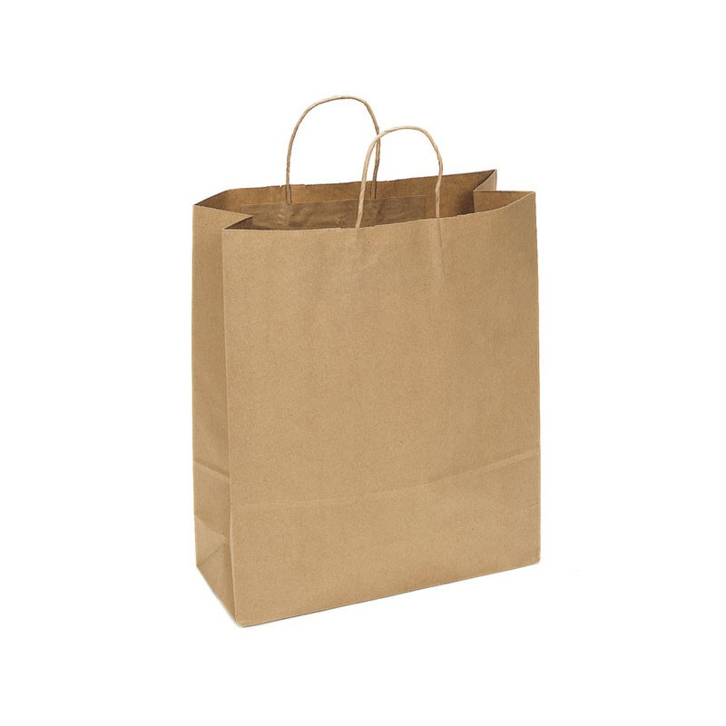 PAPB01KBXL Kraft Paper Bag Extra Large Includes Twisted Paper Handle (PAPB01KBXL_OC)