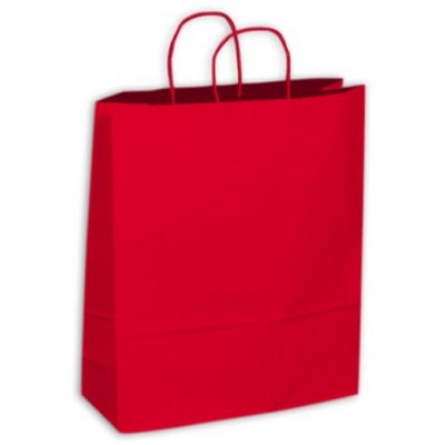 PAPB01KCXL Kraft Paper Bag Coloured Extra Large Includes Twisted Paper Handle (PAPB01KCXL_OC)