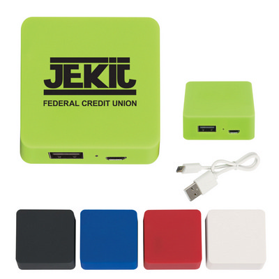 POWB42 Power Bank With Rubber Finish 2000 mAh (POWB42_OC)