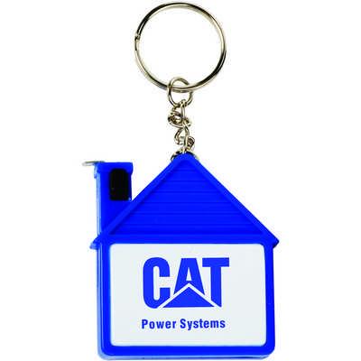 TTTT29 House Shape Tape Measure Key Chain (TTTT29_OC)