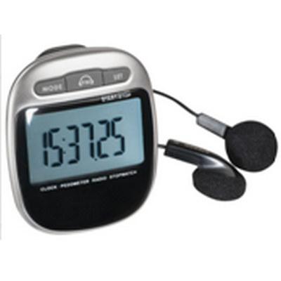 PEDL12 Pedometer With FM Radio (PEDL12_OC)
