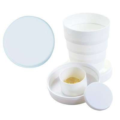 100Ml Collapsible Cup With Pillbox (HC-P07_QZ)