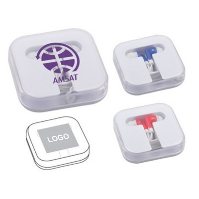 Earbuds In Square Case (HE-09_QZ)