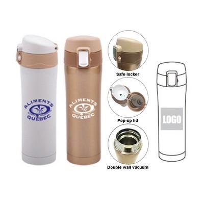 Flip Top Vacuum Flask (TB-M46_QZ)