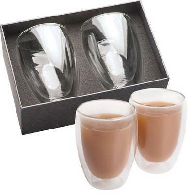 Glass Coffee & Tea Set (1414CL_NOTT)