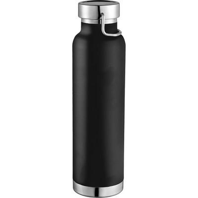 Thor Copper Vacuum Insulated Bottle - Black (4075BK_NOTT)