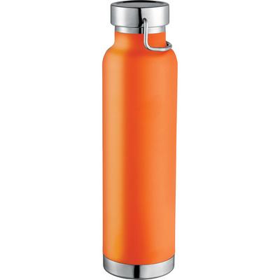 Thor Copper Vacuum Insulated Bottle - Orange (4075OR_NOTT)