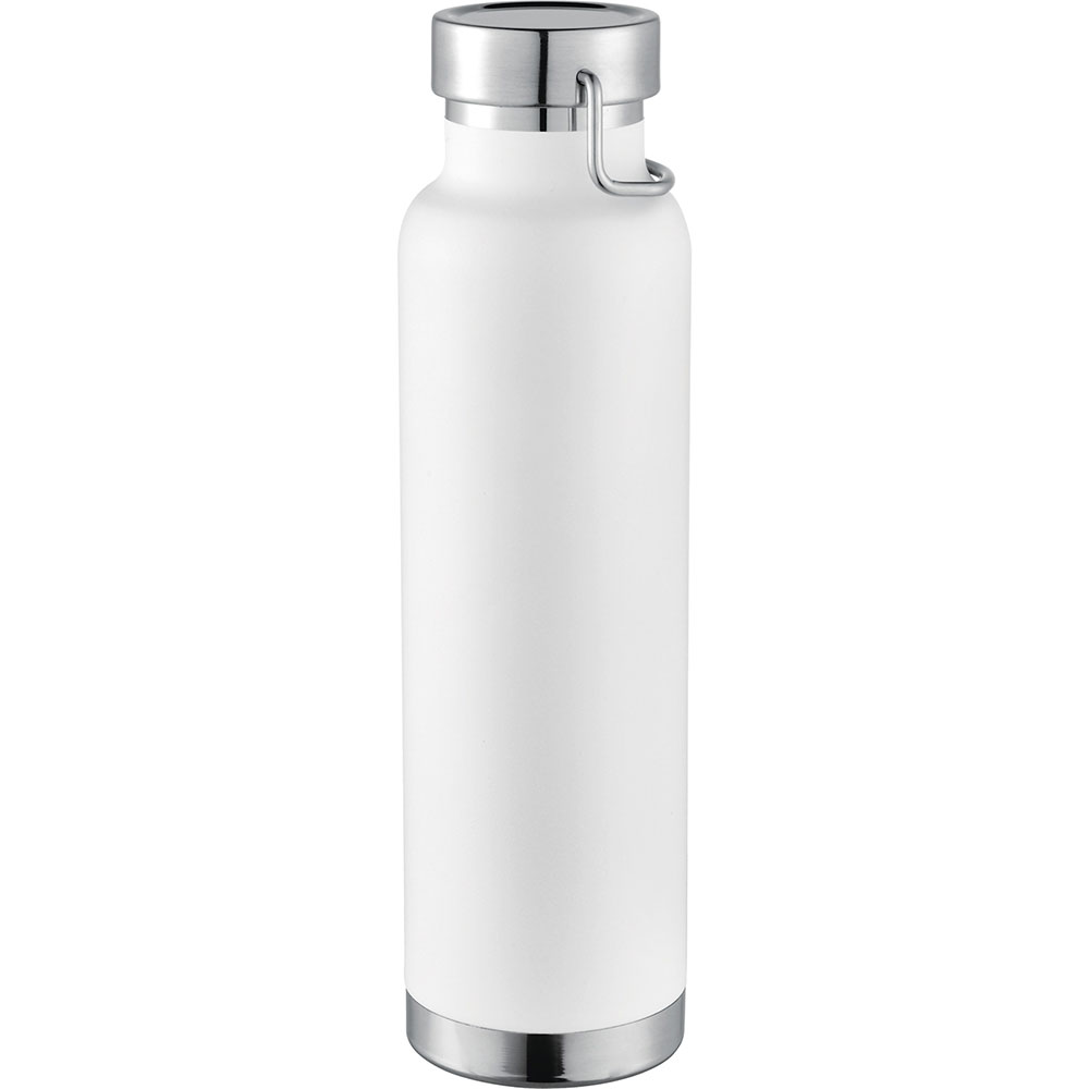 Thor Copper Vacuum Insulated Bottle - White (4075WH_NOTT)