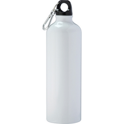 Pacific Aluminum Sports Bottle - White (4083WH_NOTT)