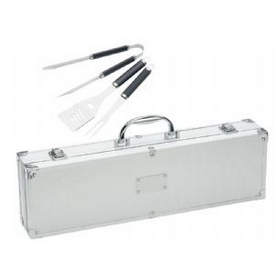 Stainless Steel BBQ Set Case (771SL_NOTT)