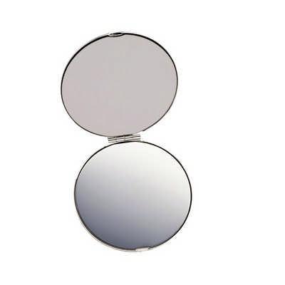 Silver Compact Mirror (8904SL_NOTT)