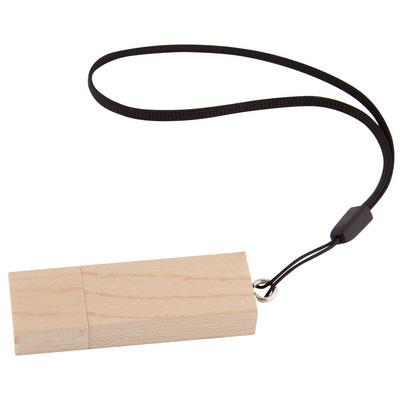Rectangle Bamboo USB (G1192_ORSO)