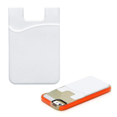 Smartphone Card Wallet - White (C469B_GLOBAL)