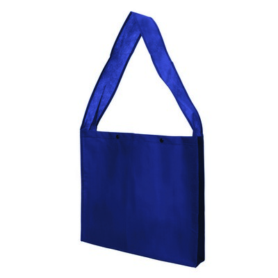 Non Woven Sling Bag - w/press studs and gusset (NWB20-NB_GLOBAL)