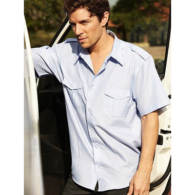 Unisex Adults Service Shirt S/S (BS193_BOC)