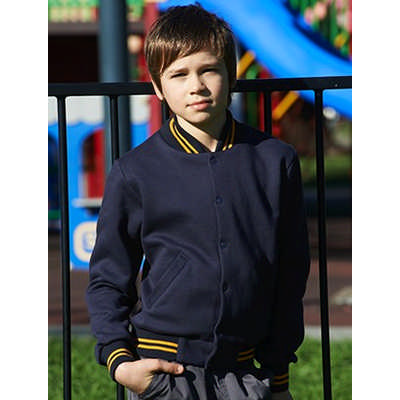 Kids School Wear Bomber Jacket (CJ1314_BOC)