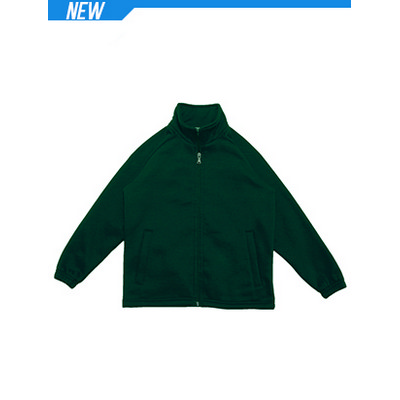 Kids Poly/Cotton Fleece Zip Through Jacket (CJ1575_BOC)