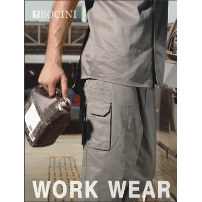 Cotton Drill Cargo Work Pants (WK1235st_BOC)