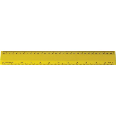 Ruler 30cm Special Yellow (NRYS) - Includes Decoration RULE30CM039_PPI