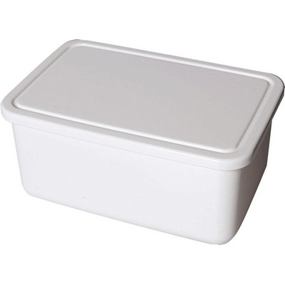 Lunch Box Base Large White - Includes Decoration LNCHLRGE001_PPI