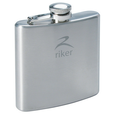 Turin Hip Flask 6oz. (R5027_PREMIER)