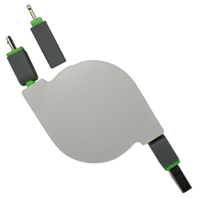 Bella 2n1 Retractable Charge Cable (AR579_PROMOITS)