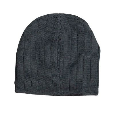 Cable Knit Beanie With Fleece Headband (CH64_WIN)