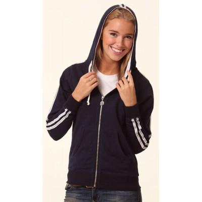 Ladies Contrast French Terry Hoodie (FL24_WIN)