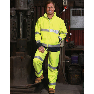 High Visibility Safety Pants with 3M Reflective Tapes (HP01A_win)