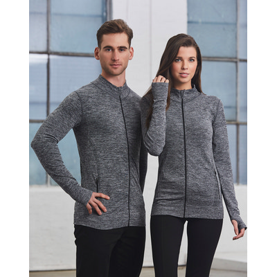 Adults Seamless Heather Jacket (JK39_WIN)