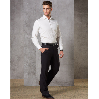 Mens Wool Blend Stretch Pants (M9300_WIN)