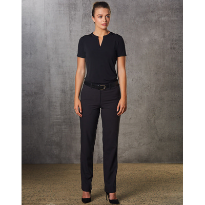 Ladies Poly/Viscose Stretch Flexi Waist Utility Pants (M9440_WIN)
