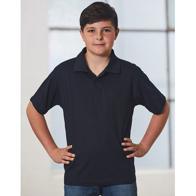 Kids CoolDry  Polyester Piqu� Polo (PS81K_WIN)