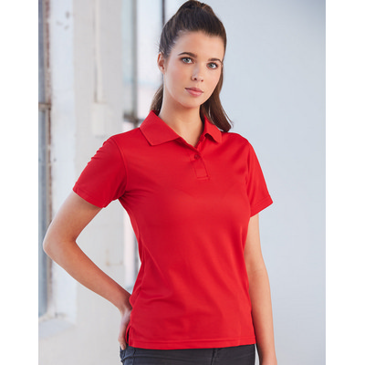 Ladies CoolDry  Polyester Piqu� Polo (PS82_WIN)