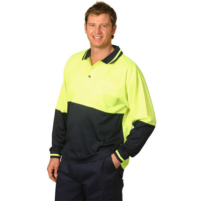 TrueDry Long Sleeve Safety Polo (SW11_WIN)