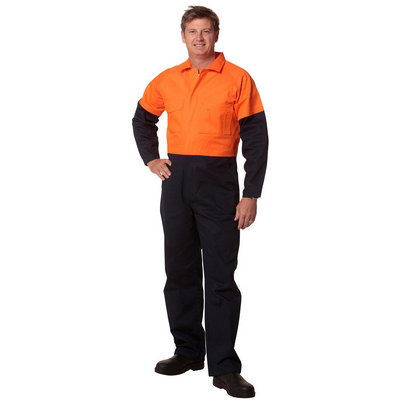 Mens Stout Size, Cotton Drill Coverall (SW205_WIN)