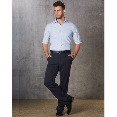 Mens Permanent Press Pants Stout Size WP01S_win