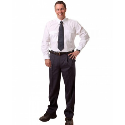 Mens Regular Flexi Waist T/R Pants (WP19_win)