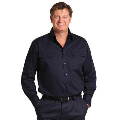 Cool-Breeze Cotton Long Sleeve Work Shirt (WT02_WIN)
