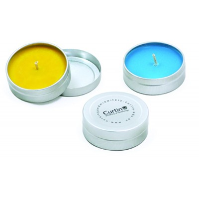 Unscented Pocket Travel Candle Tin (CT002_SKIN)