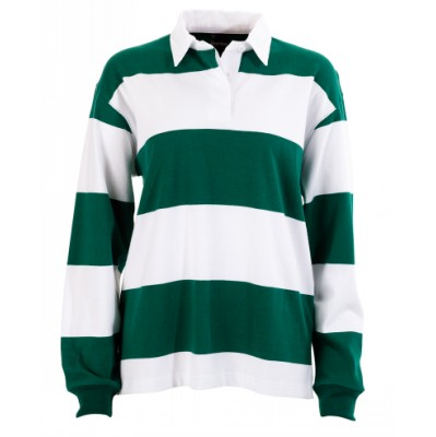 Ladies Striped Rugby Jersey (B10_IDE)