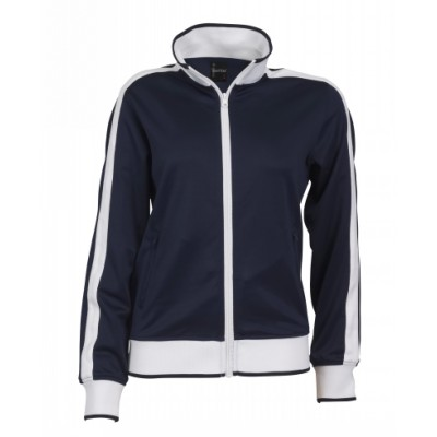 Mens Track Top with Contrast panel & piping (B30_IDE)