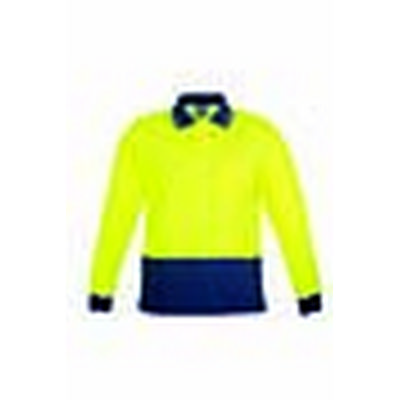 Syzmik Mens Comfort Back LS Polo ZH410_SYZM